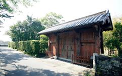 旧福原家萩屋敷門