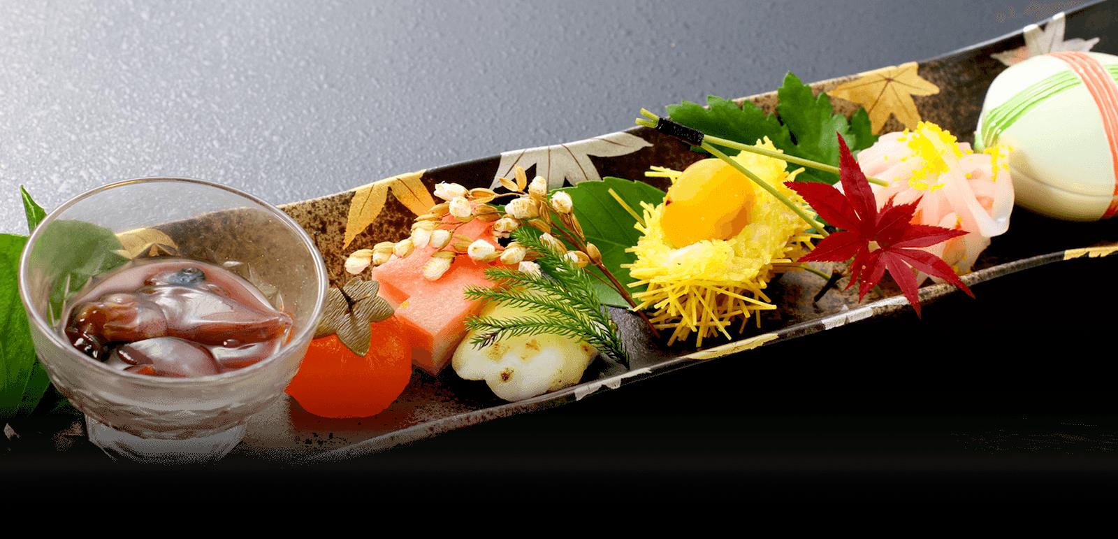 山口県萩市 旅館|萩城三の丸 北門屋敷のお食事イメージ画像