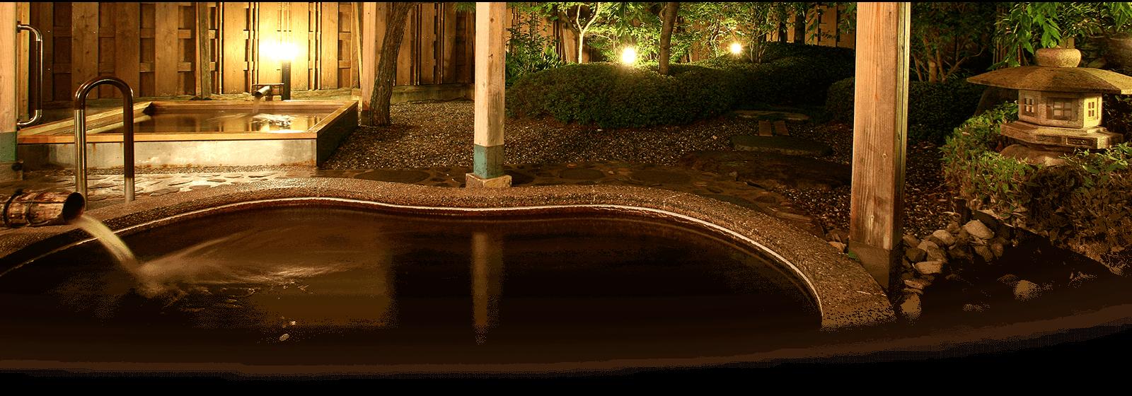 北門屋敷の温泉