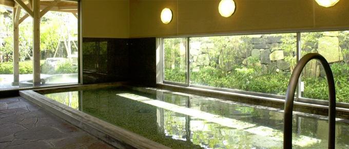 白壁の湯[大浴場]室内 | 山口県萩市 北門屋敷