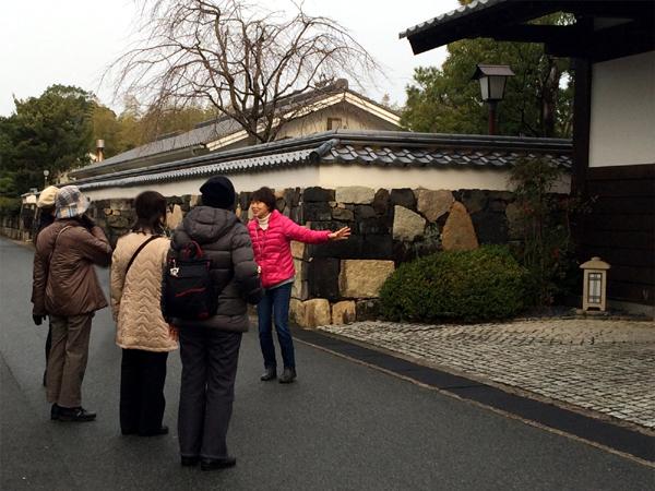 世界遺産の町並み巡る『萩城三の丸歴史ウォーク』の画像