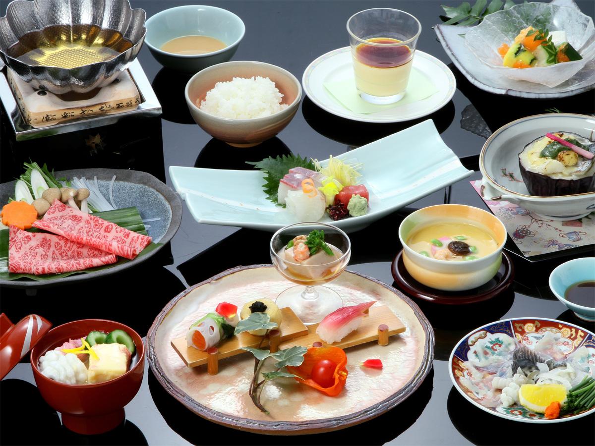 会席料理の画像