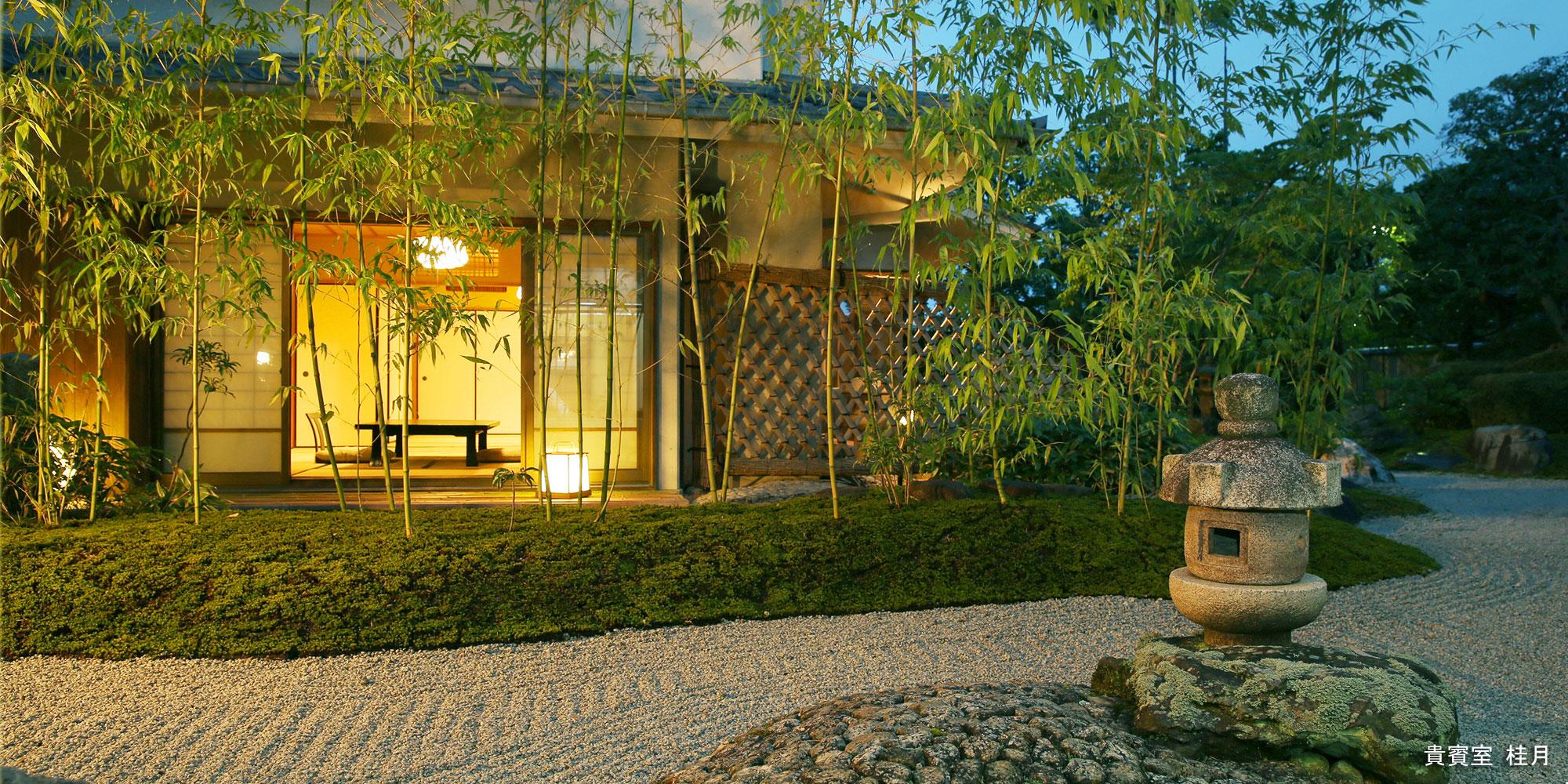12月 貴賓室 桂月 - 山口県 萩市|世界遺産[萩城下町]唯一の旅館 萩城三の丸 北門屋敷